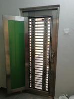 Security Stainless Steel Single 3ft Door