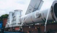 SILOS Equipment on Flat Rack Container
