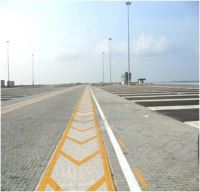 Container Terminal Yard Phase II, PTP (Roadside Furniture / Pavement Work)