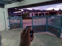 2020 , FEB , Dnor 712 , autogate installation ,  taman bukit rambai , ayer keroh , bemban , bukit beruang , jasin , merlimau , tanjong kling , melaka city , malacca , Malaysia auto Gate System