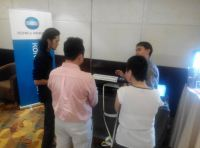 2-3rd Jul 2015 Konica Minolta roadshow at Eastin Penang