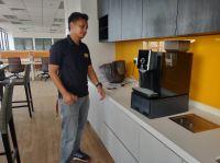 Coffee Machine Rental - Barista O6 Model Installation
