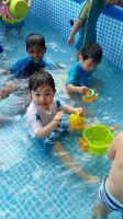 Water play and cooking