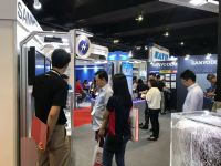 Sanyo Denki Booth at MITEC Exhibition 2019