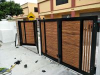 Gate installed @ Morib, Sepang