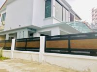 Aluminium Folding Gate installed @ Puncak Jalil