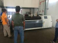 Used Hydraulic Plate Rolling Machine @ Selangor
