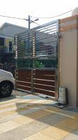 DCMOTO GFM925AL Auto Gate + Auto Lock, Bandar Putra, IOI Palm Villa Golf, Kulai, Johor Bahru.