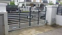 DCMOTO GFM925AL Auto Gate + Auto Lock, Taman M-Residence 2, Rawang, Selangor.