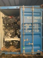 Used Car Engine and Spare Parts Loading to Container @ South Africa
