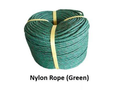 nylon rope green