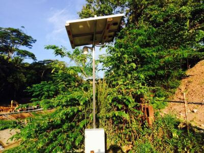 Solar CCTV For Site Monitoring