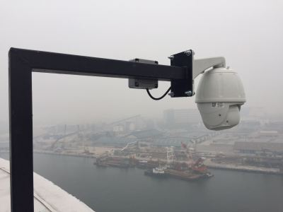 PTZ Camera To Monitor Activity At Port