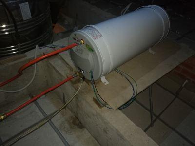 Joven storage tank heater