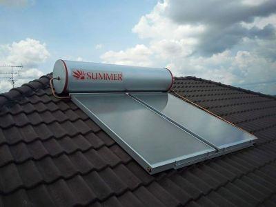 Summer Solar Heater