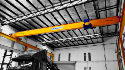 Installation Of Single Girder Overhead Crane