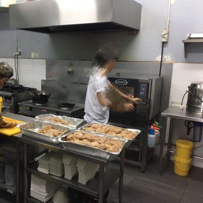 Combi Oven In Action