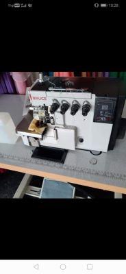 New Bruce Industrial Overlock Sewing Machine