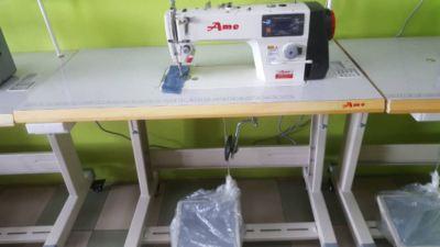 Model Industrial Overlock Interlock Buttonhole Portable Overlock Working foot Sewing Machine