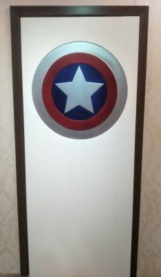Superheroes Door