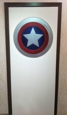 Superheroes Door
