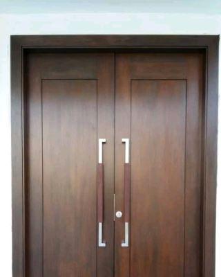 SOLID TIMBER DECORATIVE EQUAL DOOR LEAF
