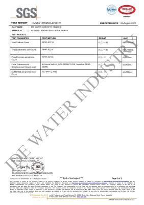 SGS WATER TEST