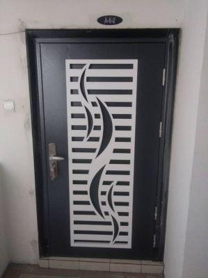Project Security Door With Fully Installation@Medan Putra Condominium, Kepong