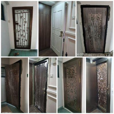 Project Security Door With Fully Installation@Menara Nilam, Tiara Ampang Condo
