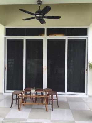 Mosquito Security Screen-Sliding Screen Door