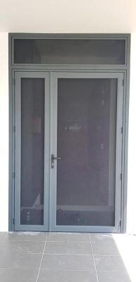 Mosquito Security Screen-Swing Open Door