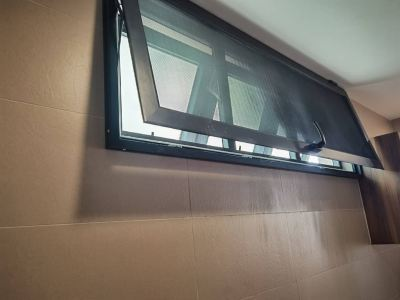 Security Stainless Steel Mosquito Mesh Top Hung