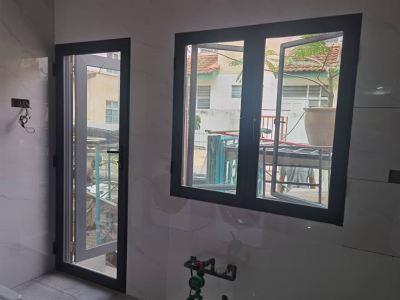 Security Stainless Steel Mosquito Mesh Swing Door / Casement Window