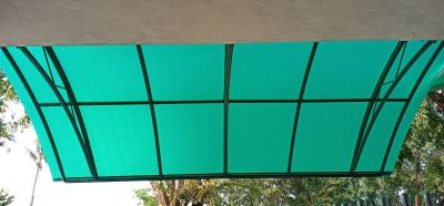 Installation change polycarbonate at kajang