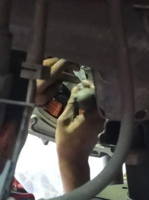 Honda Jazz - Replace Flywheel oil seal, Auto Oil Seal, Drivershalf Oil Seal