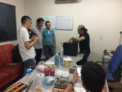 East Malaysia Office Training & Customer Demonstrated
