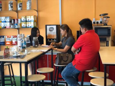 Coffee Machine Rental - Outstation Clients Visit