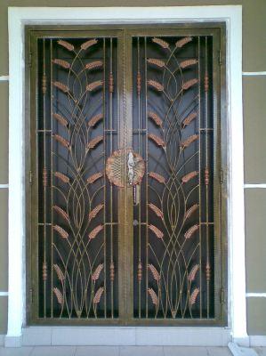 Main Entrance Door Grille