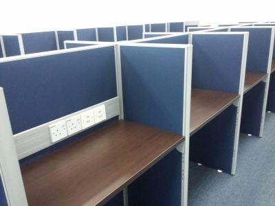 Call centre workstation at Bangsar