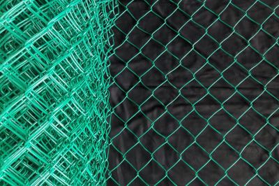 PVC Chain Link Fence Singapore Manufacturer