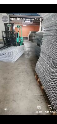 Singapore High Security BRC Fence Construction Hardware Material