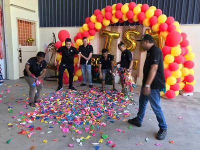 Taseng Marketing Sdn Bhd Chinese New Year 2019 Balloon Firecrackers