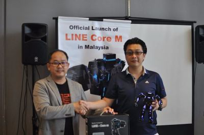 Official Launch Line Core M  in Malaysia