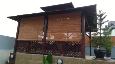 Bamboo Blinds Installation (1)