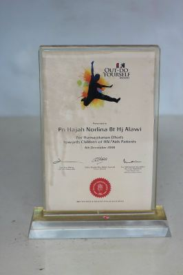 Anugerah Out - Do Yourself Awards (OYA) FN for Humanitarian Efforts Towards Children of HIV/AIDS Patients