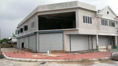 New shop lot