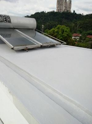 Taman Hillview Ampang Bangalow Roof Apply Waterproofing