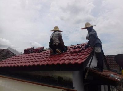 Installation New Roof Tiles @ Sri Hartamas
