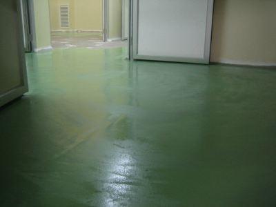 Epoxy SL Flooring, Herbs Production Plant, Petaling Jaya