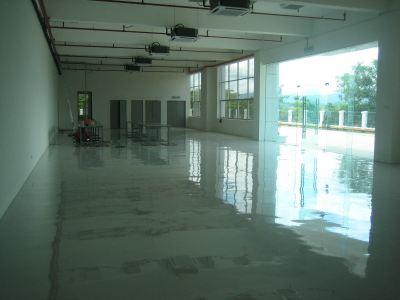 Epoxy SL Flooring, Grove Manufacturing Plant, Bukit Beruntung